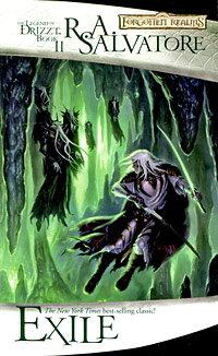 The Legend of Drizzt Book 2 Exile Серия: Forgotten Realms / Забытые Королевства инфо 8526a.